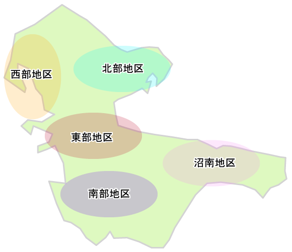 kashiwa map